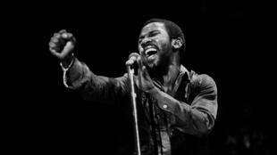 Toots Hibbert des Toots and the Maytals, en concert à Chicago, Illinois, le 2 avril 1982.
