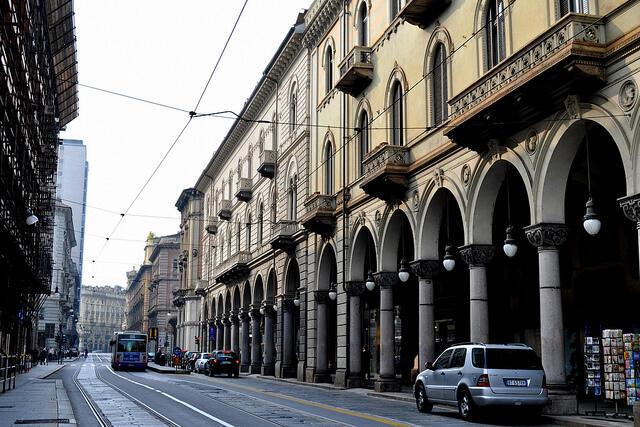 A cidade de Turim que foi atingida por um leve terremoto nesta quarta-feira.