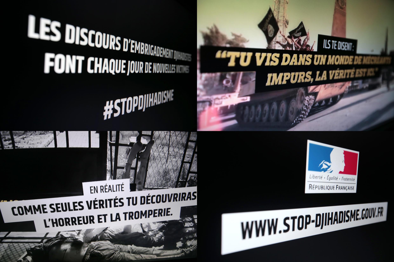 После январских терактов французское правительство  заказало исследования, чтобы выяснить, почему граждане переходят на сторону радикальных исламистов и попытаться остановить процесс. На фото -- скриншот с сайта www.stop-djihadisme.gouv.fr.