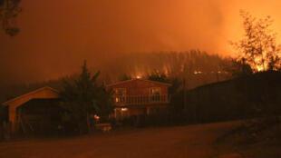 Incêndios florestais deixam seis mortos no Chile.