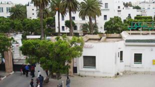 L'hôpital Charles Nicolle à Tunis.