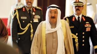 شیخ صباح الاحمد الجابر الصباح، امیر کویت، از سال ۲۰۰۶ به قدرت رسید.