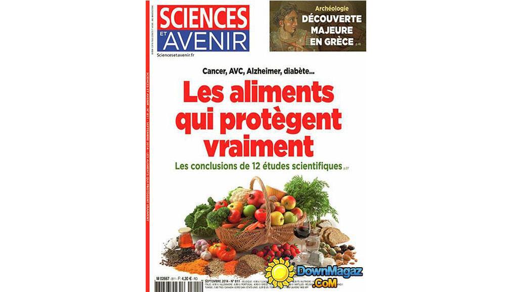 """""""Sciences et avenir"""" septembre 2014"""