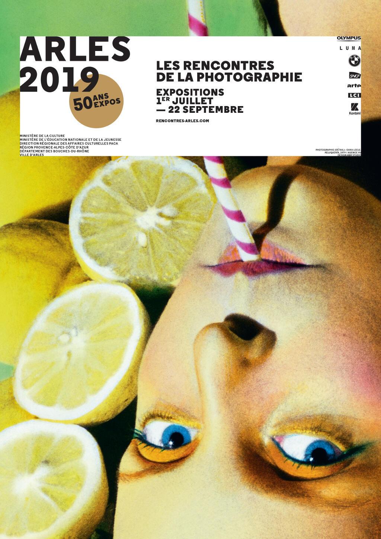 Affiche des Rencontres de la photographie de Arles 2019.