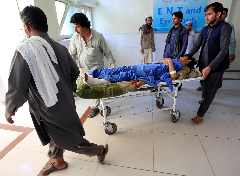 قربانیان انفجار در جلال آباد