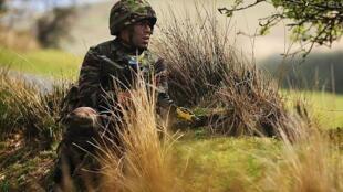 Soldat des forces armées royales marocaines en entraînement (photo d'illustration).