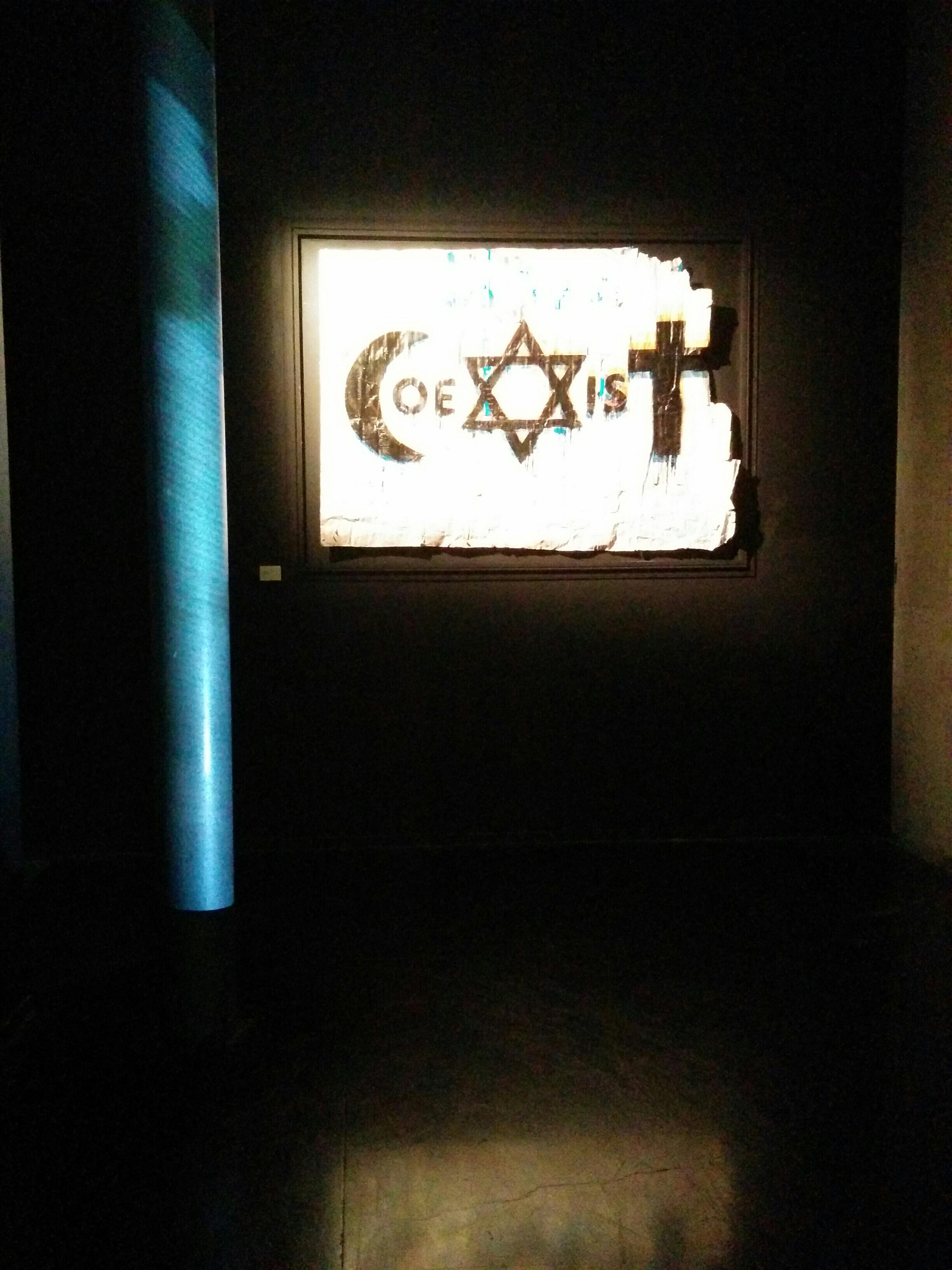 """""""Coexist"""", a exposição de Combo que está cartaz desde o dia 7 de janeiro no Instituto do Mundo Árabe"""