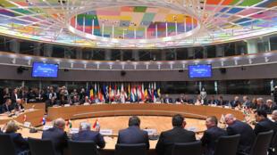 A denúncia aconteceu durante reunião em Bruxelas com chanceleres e ministros da Defesa do bloco europeu, em 13 de novembro de 2017.