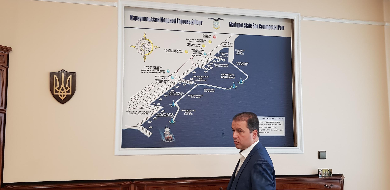 Директор порта Александр Олейник