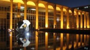 Palácio do Itamaraty, em Brasília, sede do ministério das Relações Exteriores do Brasil.