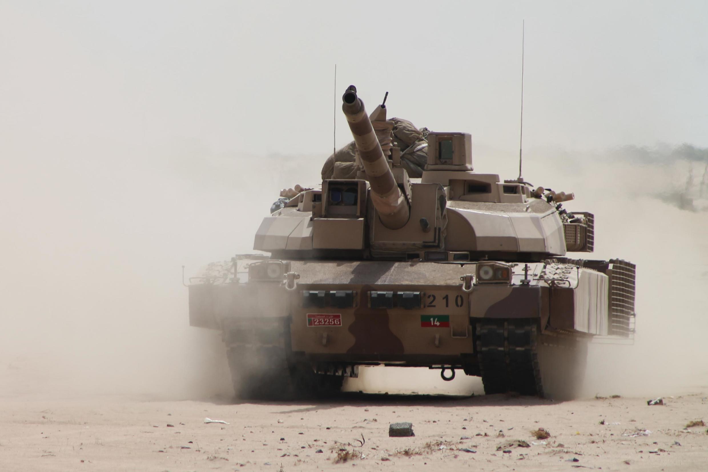 Французский танк Leclerc сил Саудовской Аравии в Йемене