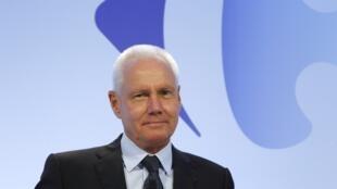 O presidente e diretor executivo da empresa Carrefour, Lars Olofsson
