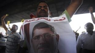 Plusieurs milliers de partisans du président déchu Mohamed Morsi ont manifesté ce mardi 3 septembre en Egypte.