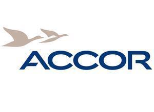 Logo del grupo francés de hotelería Accor.