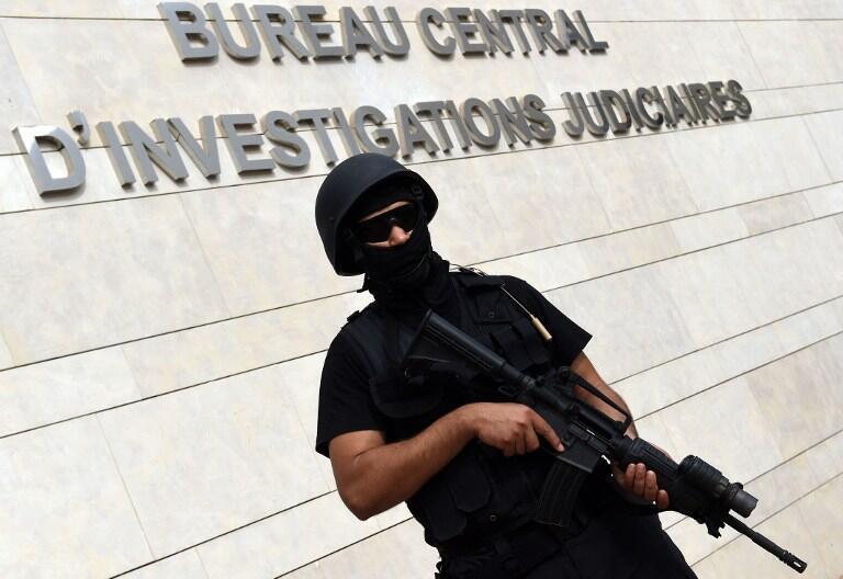 Un membre de l'unité d'élite du BCIJ, spécialisée dans des enquêtes anti-terroristes, le 14 septembre 2015.