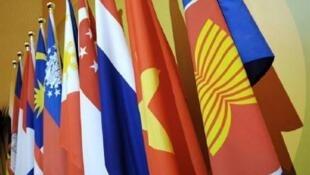 东盟成员国旗帜图