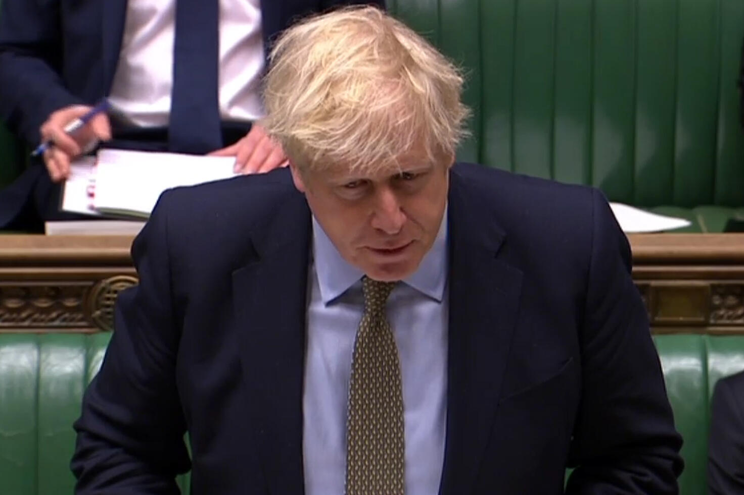 Firaministan Birtaniya Boris Johnson a zauren Majalisar Dokokin Kasar