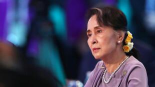 Lãnh đạo Miến Điện Aung San Suu Kyi tại thượng đỉnh ASEAN ở Sydney tháng 03/2018.