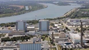 法国南部加尔核废料处理场