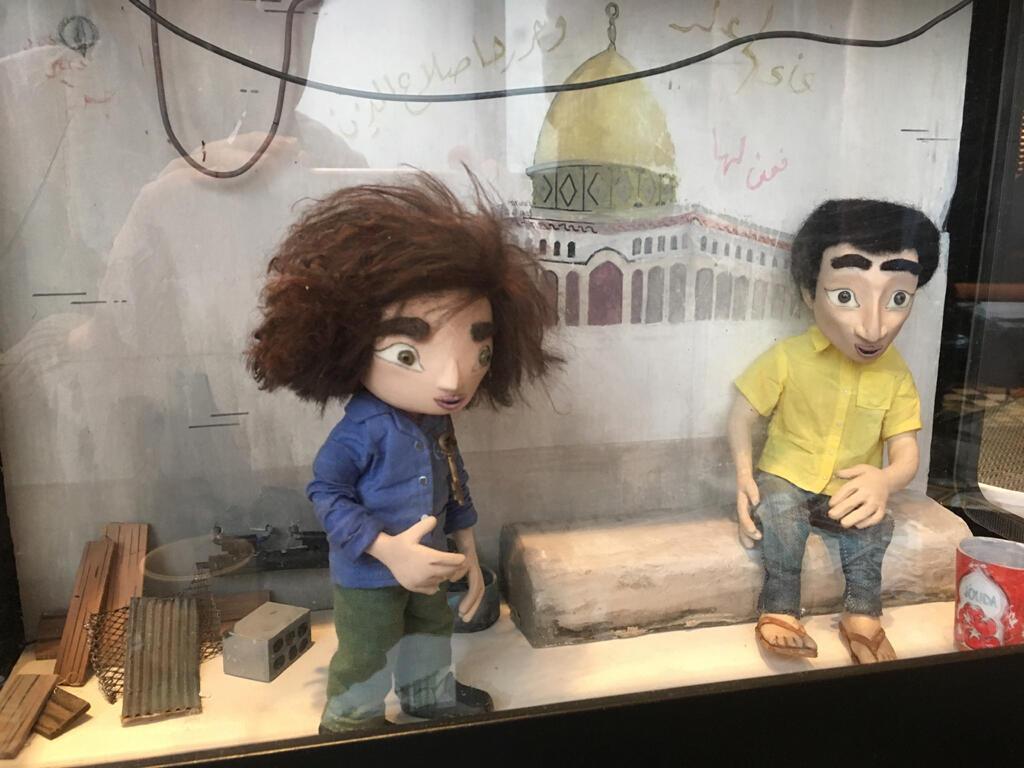 Personnages principaux du film d'animation «Wardi».