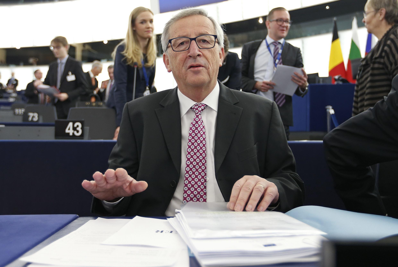Le président de la Comission européenne Jean-Claude Juncker, à Strasbourg le 26 novembre 2014.