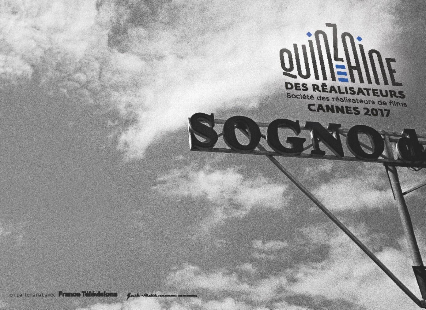 Cartaz da Quinzena de Realizadores do Festival de Cannes
