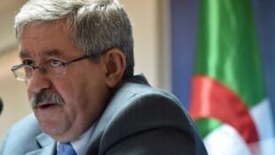 L'ancien Premier ministre algérien Ahmed Ouyahia. (Photo d'archives)