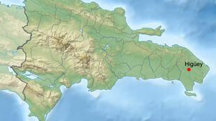 Carte de la République Dominicaine