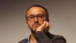 Andreï Zviaguintsev au festival de cinéma Premiers Plans d'Angers, en janvier 2016.