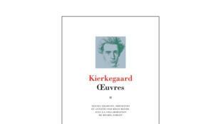 Couverture «Oeuvres», de Soren Kierkegaard, Tome II. Traduction par Michel Forget et Régis Boyer.