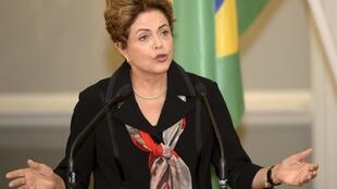 Dilma Rousseff expressou a solidariedade do povo brasileiro