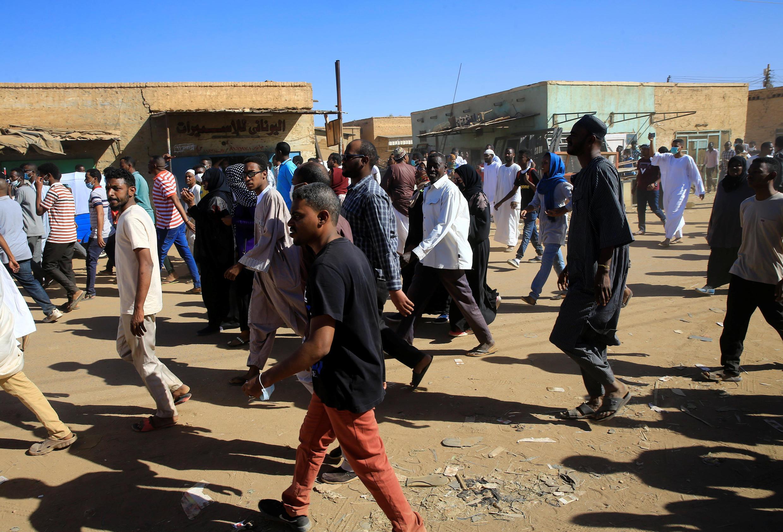 Manifestation dans les rues de Khartoum le 11 janvier 2019 (illustration).
