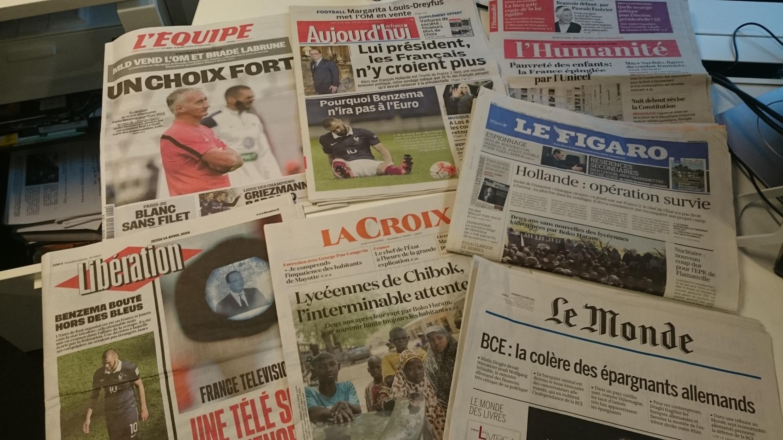 Diários franceses 14.04.2016