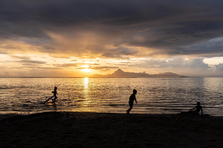 Alrededores de Papeete, Polinesia francesa.