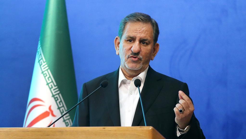 اسحاق جهانگیری به همراه تیم اقتصادی دولت در مجلس شورای اسلامی حاضر شدند