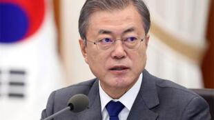 韓國總統文在寅 資料照片