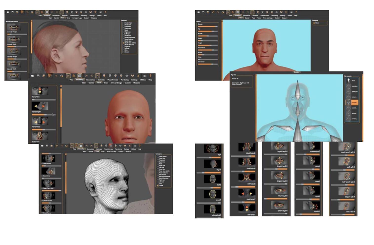 Avatar make a Human