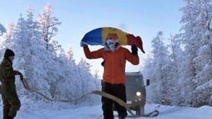 Дмитрий Волошин установил мировой рекорд, пробежав 50км при температуре −60°Cзашесть часов