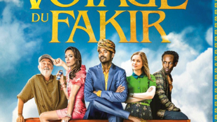 Poster for the French release of Ken Scott's The Fakir's Extraordinary Journey