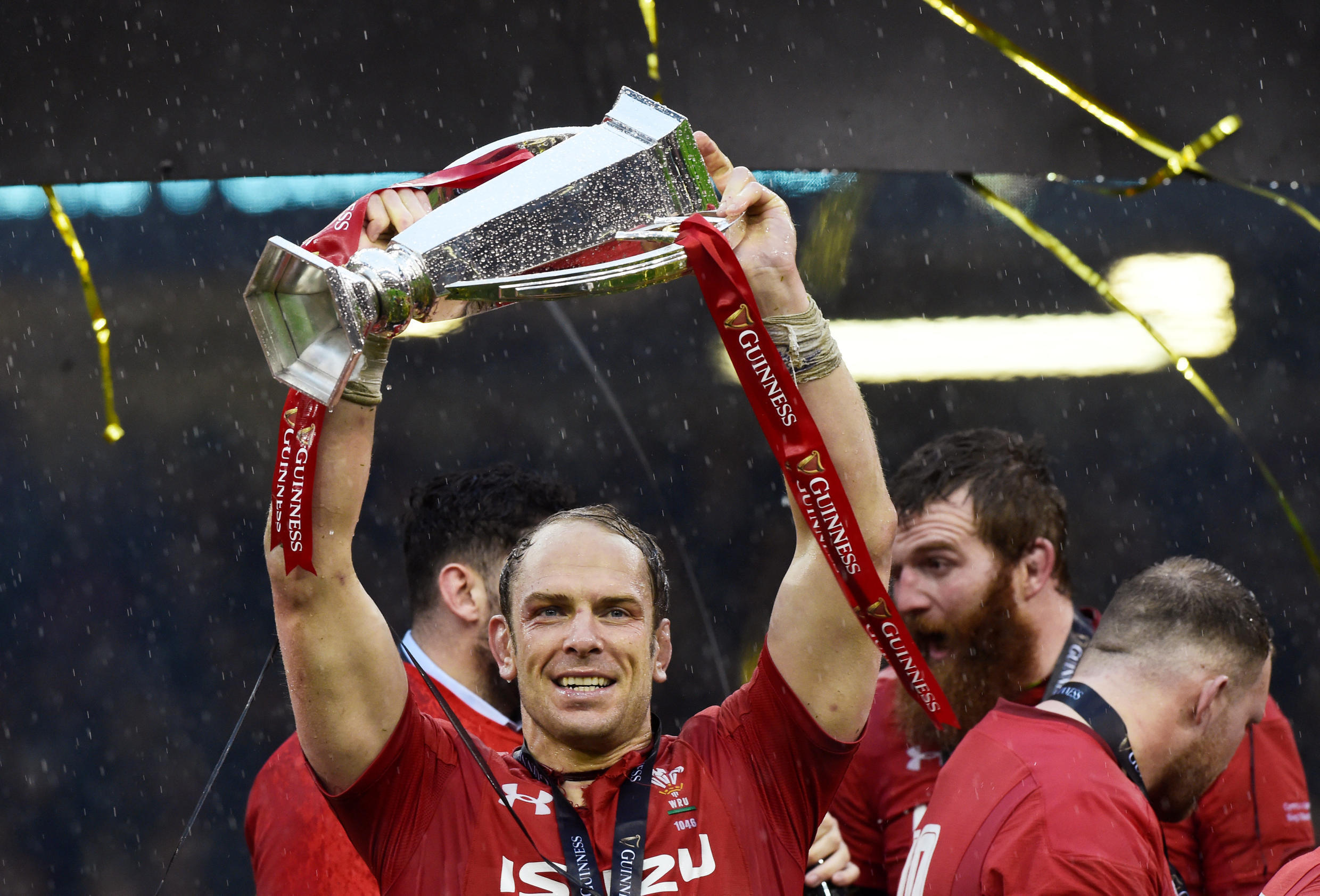 Alun Wyn Jones Wales captained Wales to their first Six Nations title since 2013.