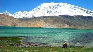 喜马拉雅山区景色