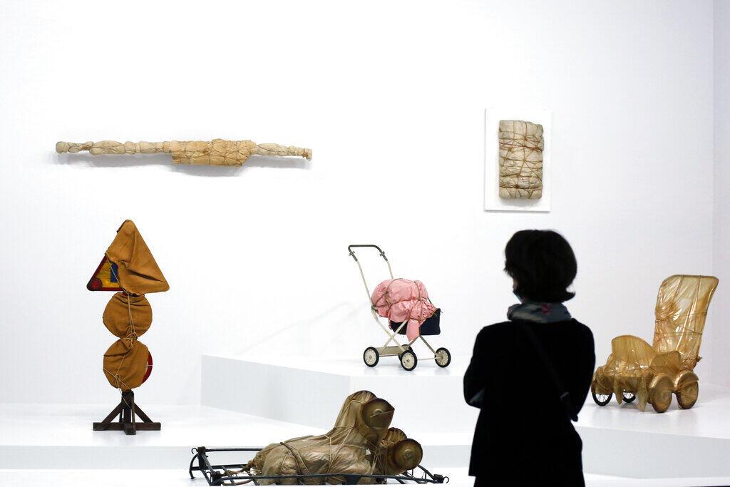 Christo Centre Pompidou July 2020