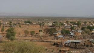 Vue sur le petit village de Badme, où les habitants espèrent le retour de la prospérité suite aux accords économiques entre l'Éthiopie et l'Érythrée.