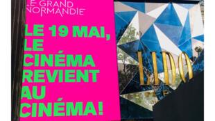 Cinéma - salles - réouverture le 19 mai 2021 - confinement - Le Grand Normandie - Tous les cinémas du monde