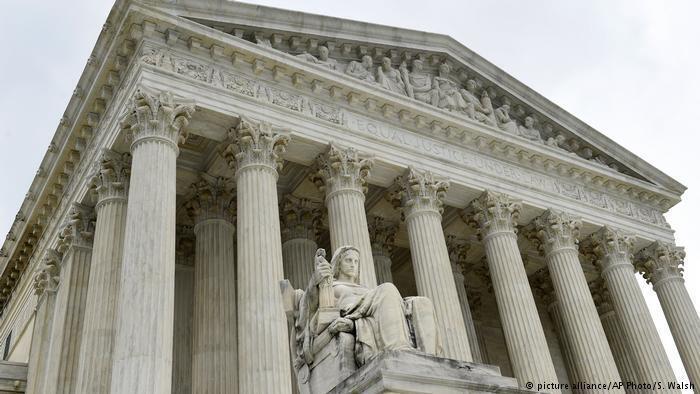 وزارت دادگستری آمریکا در واشنگتن