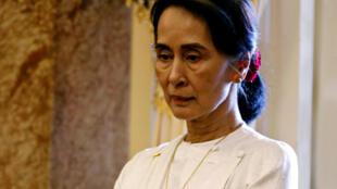 آنگ سان سوچی، رهبر حزب حاکم میانمار