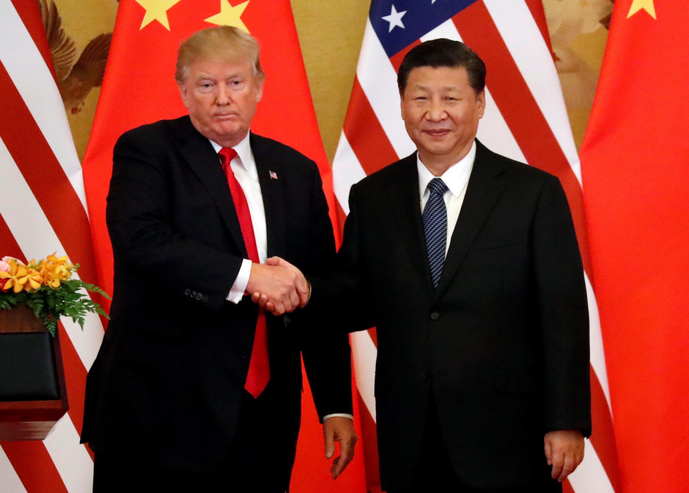 O presidente dos Estados Unidos, Donald Trump, declarou nesta quinta-feira estar convencido de que existe uma solução para a crise com a Coreia do Norte, durante uma reunião com seu homólogo chinês, Xi Jinping.