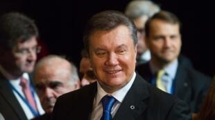 O presidente da Ucrânia, Viktor Yanukovich