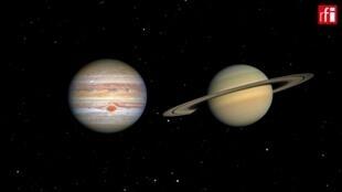Jupiter-Saturn-Conjunction
