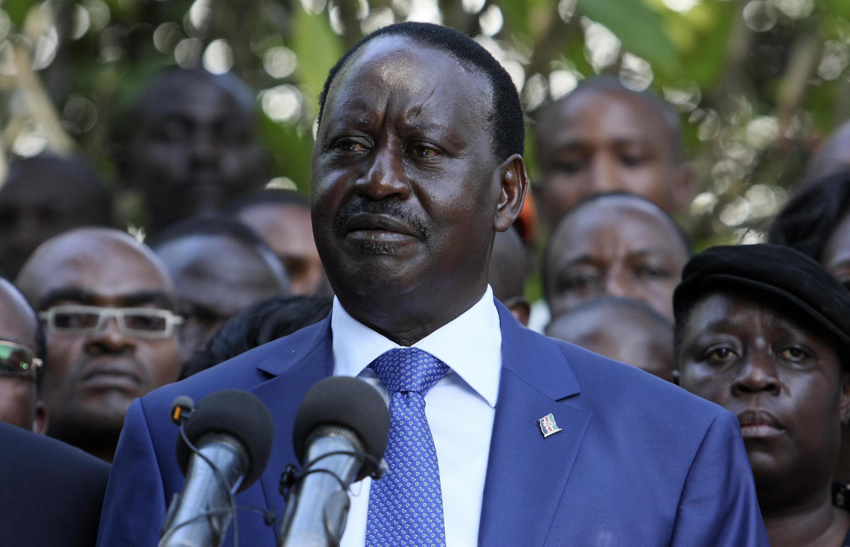 Kinara wa muungano wa kisiasa wa CORD, Raila Odinga
